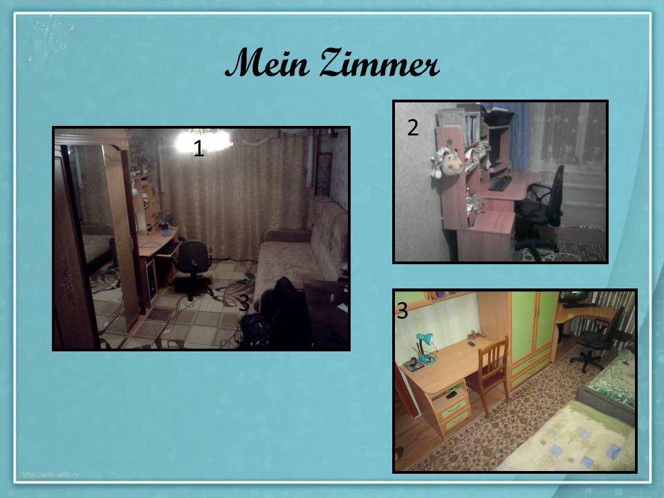 Mein Zimmer 2 1 3 3