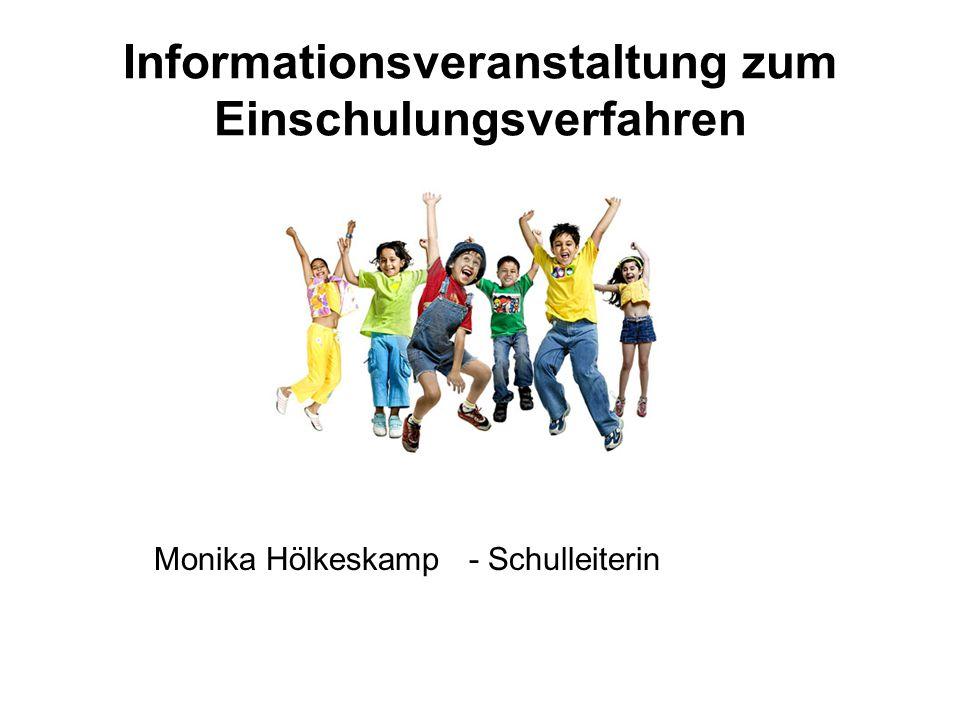 Informationsveranstaltung zum Einschulungsverfahren