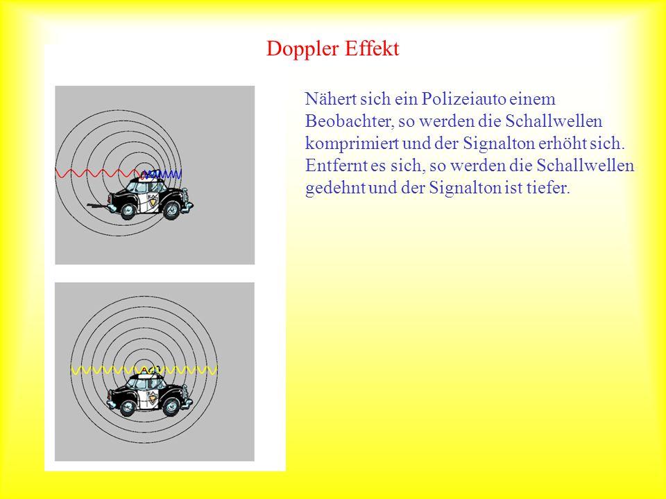 Doppler Effekt