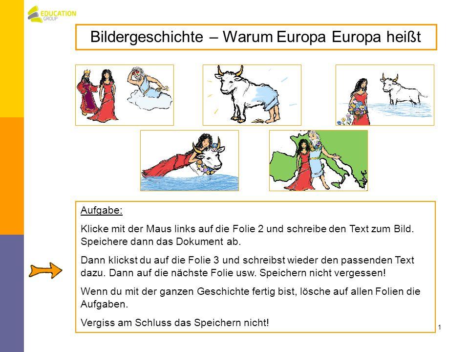 Bildergeschichte – Warum Europa Europa heißt