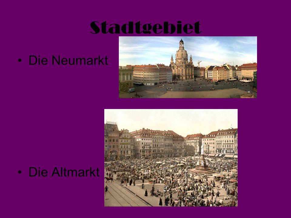Stadtgebiet Die Neumarkt Die Altmarkt