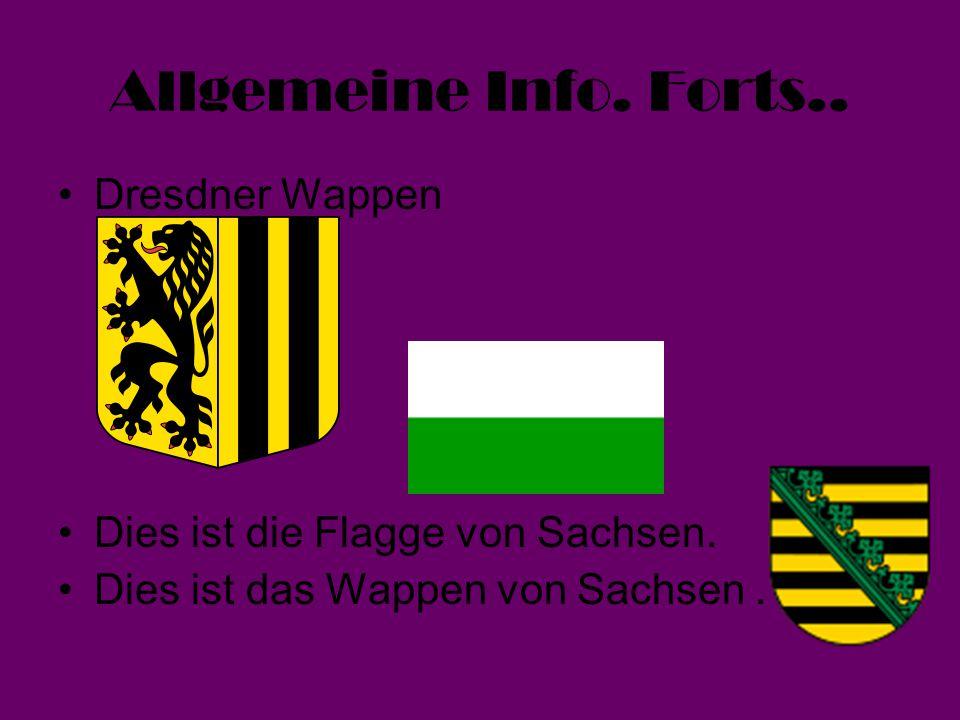 Allgemeine Info. Forts.. Dresdner Wappen