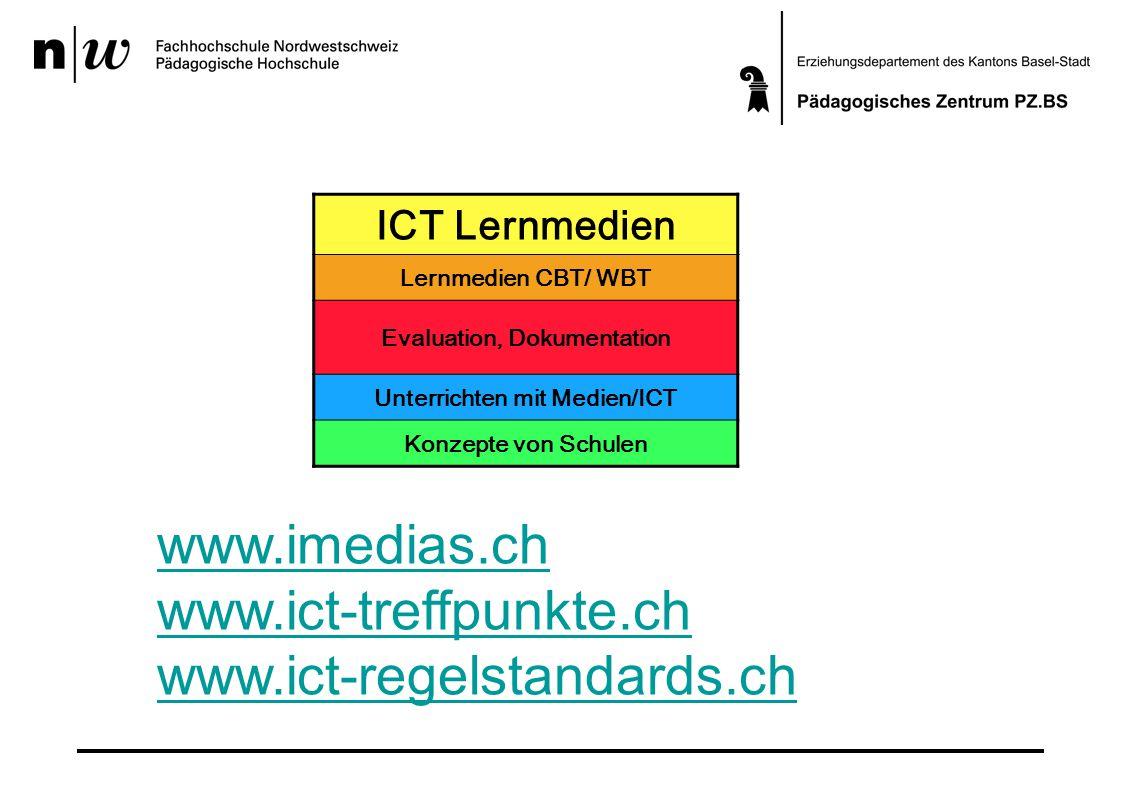 Evaluation, Dokumentation Unterrichten mit Medien/ICT