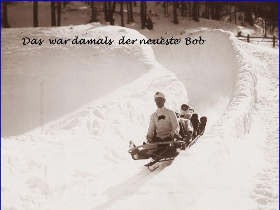 Das war damals der neueste Bob