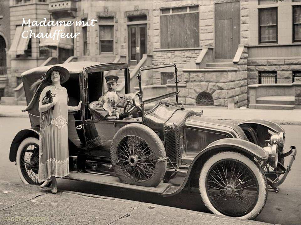 Madame mit Chauffeur
