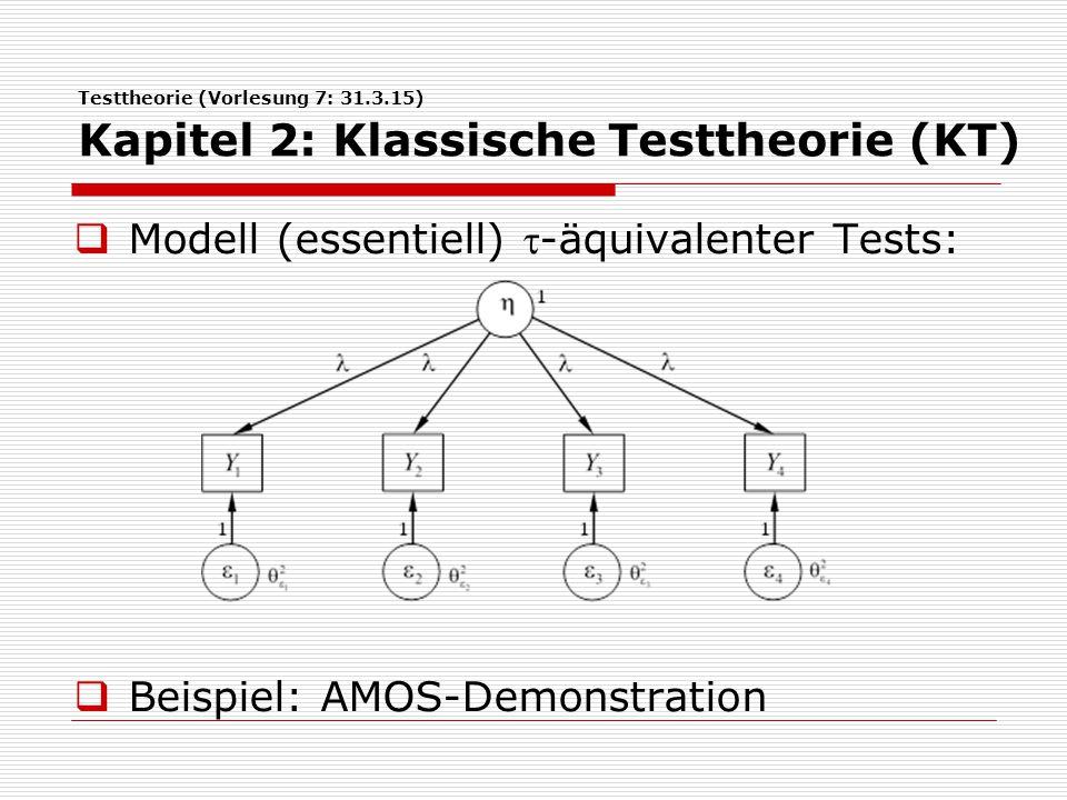 Modell (essentiell) -äquivalenter Tests:
