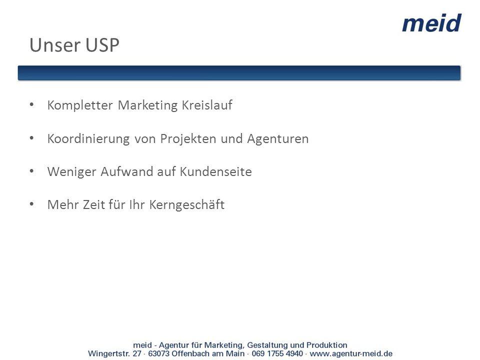 Unser USP Kompletter Marketing Kreislauf