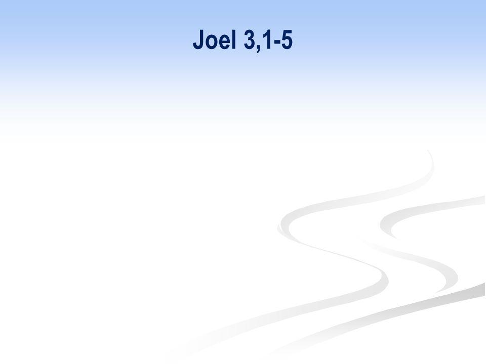 Joel 3,1-5