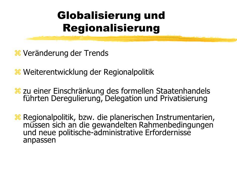 Globalisierung und Regionalisierung