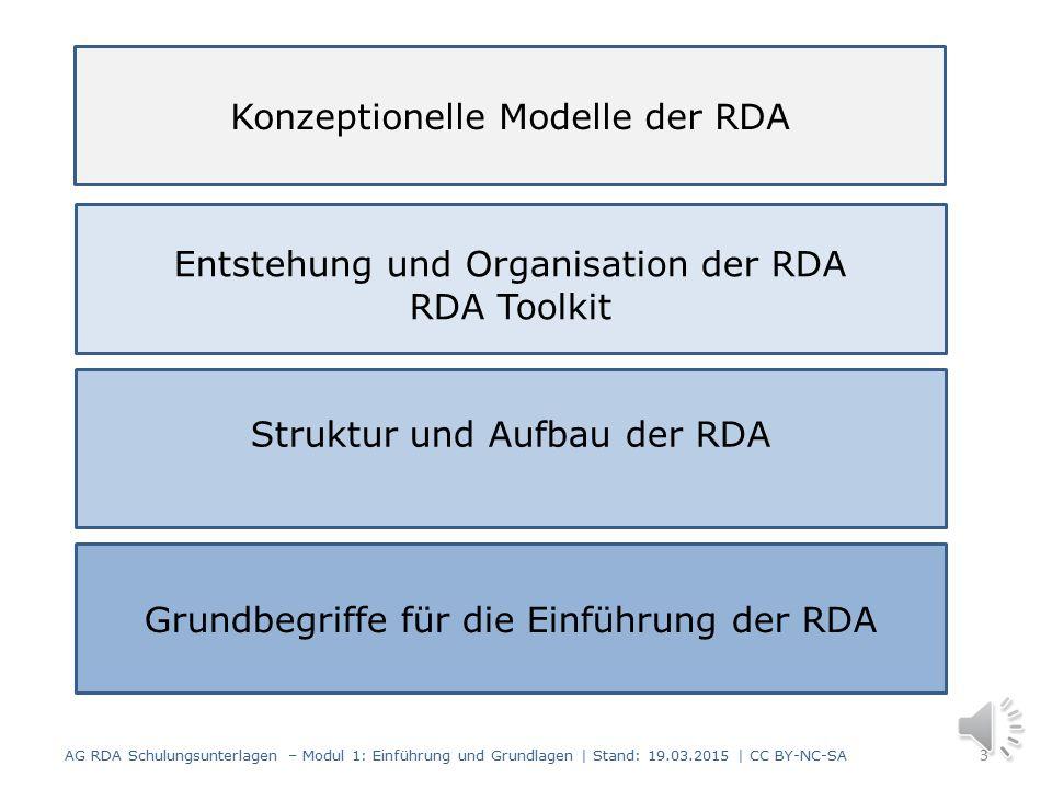 Konzeptionelle Modelle der RDA