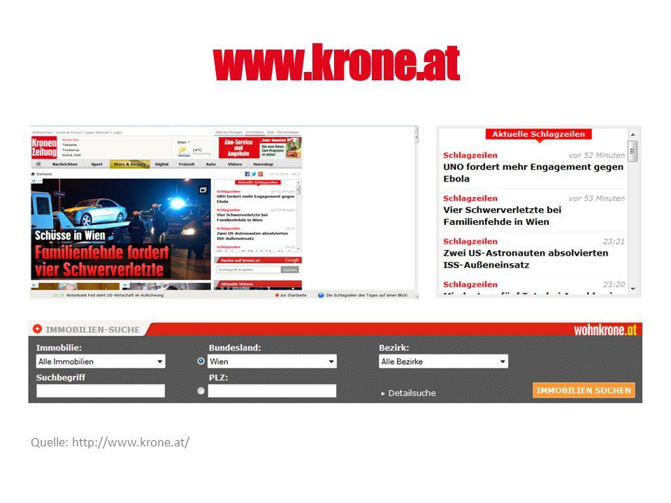 www.krone.at Quelle: http://www.krone.at/