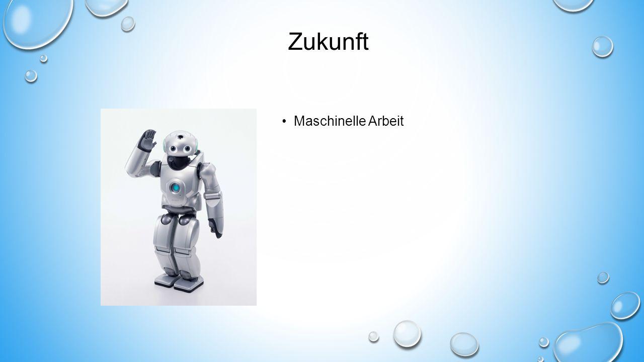 Zukunft Maschinelle Arbeit
