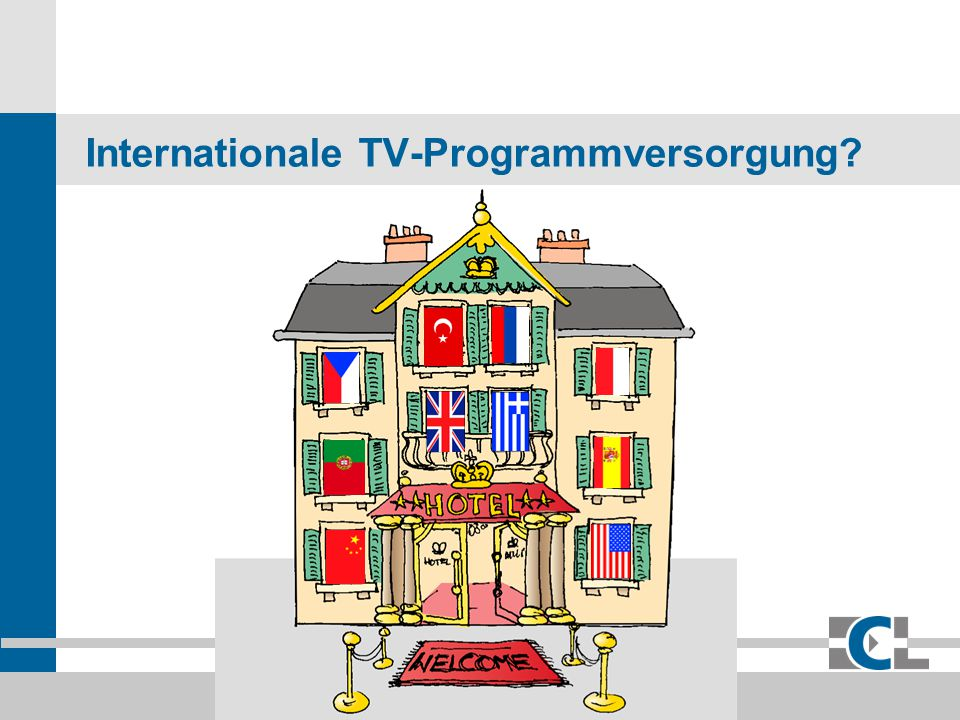 Internationale TV-Programmversorgung