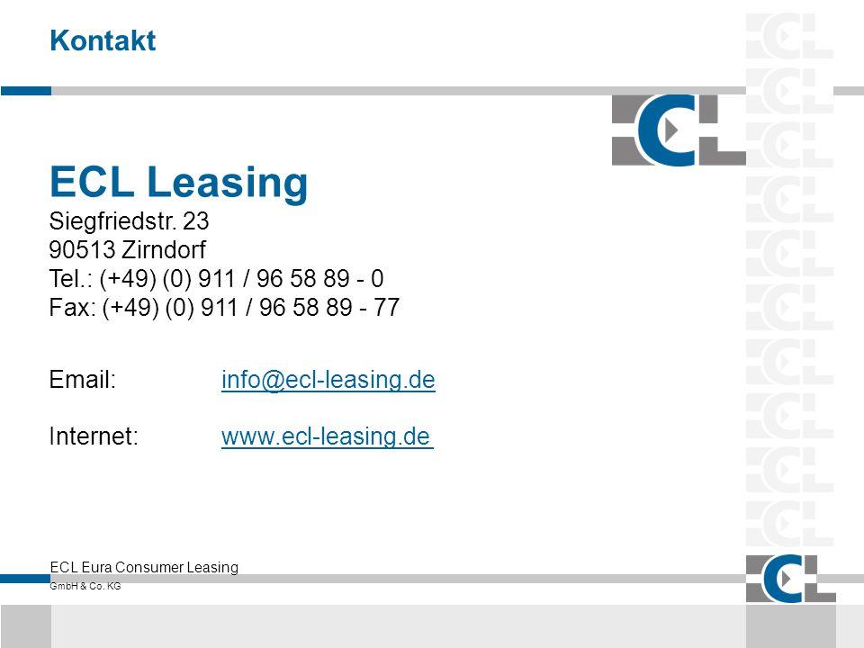 ECL Leasing Kontakt Siegfriedstr. 23 90513 Zirndorf