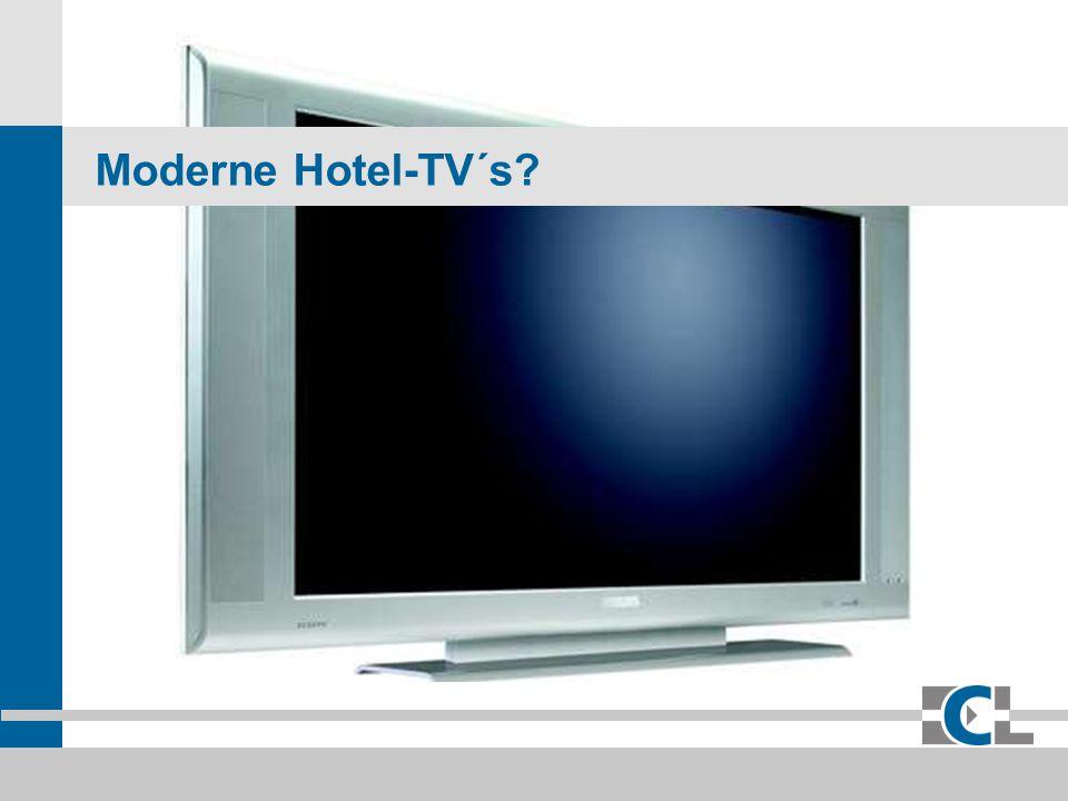 Moderne Hotel-TV´s