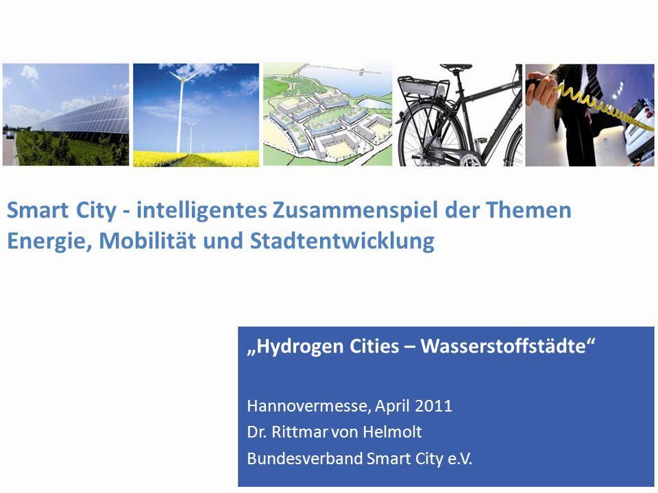 Smart City - intelligentes Zusammenspiel der Themen Energie, Mobilität und Stadtentwicklung