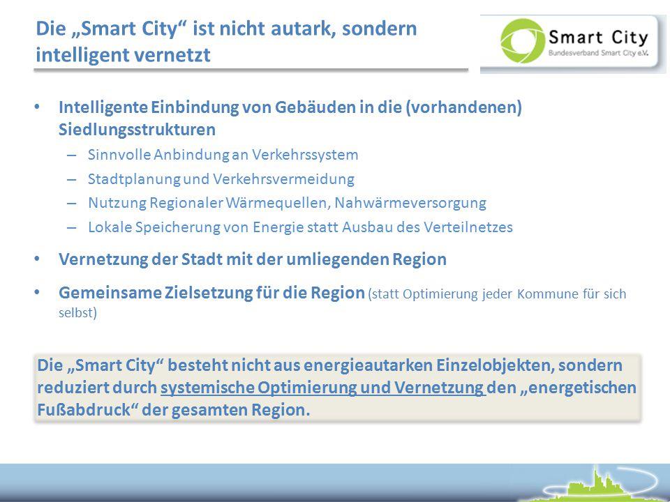 """Die """"Smart City ist nicht autark, sondern intelligent vernetzt"""