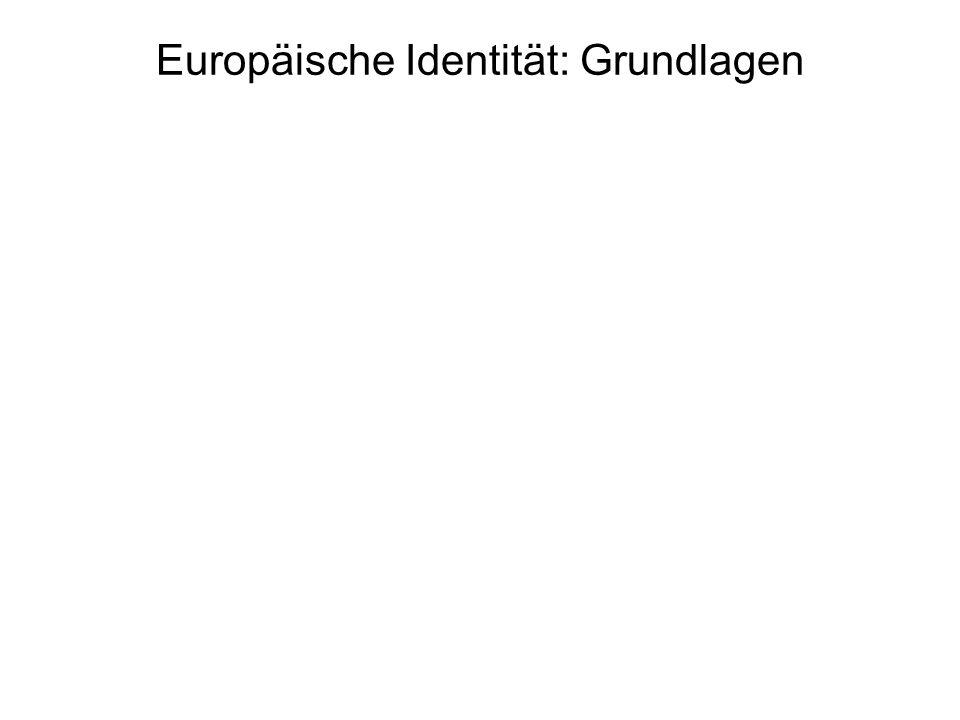 Europäische Identität: Grundlagen