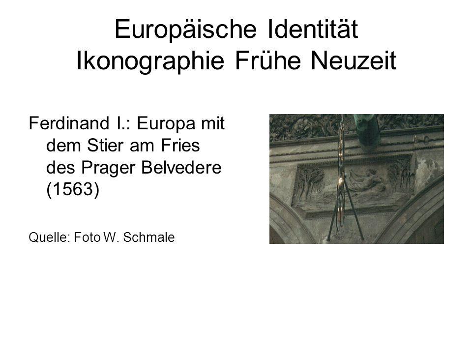 Europäische Identität Ikonographie Frühe Neuzeit