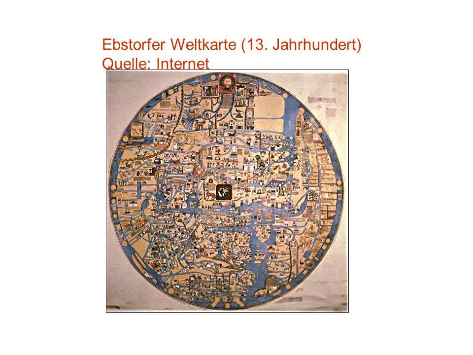 Ebstorfer Weltkarte (13. Jahrhundert)