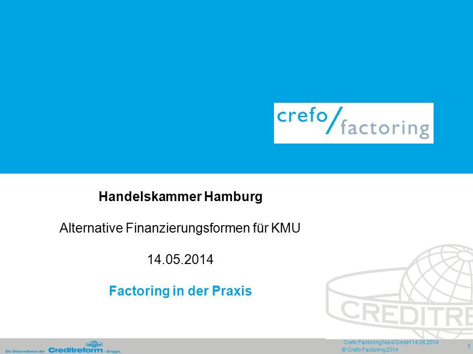 Handelskammer Hamburg Alternative Finanzierungsformen für KMU 14. 05
