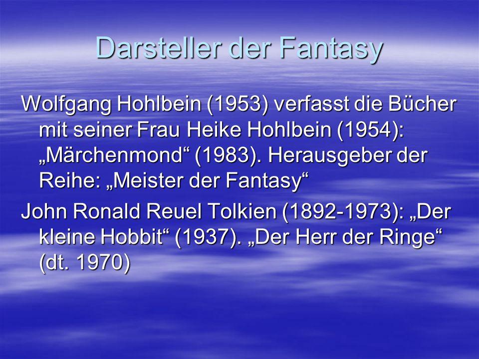Darsteller der Fantasy