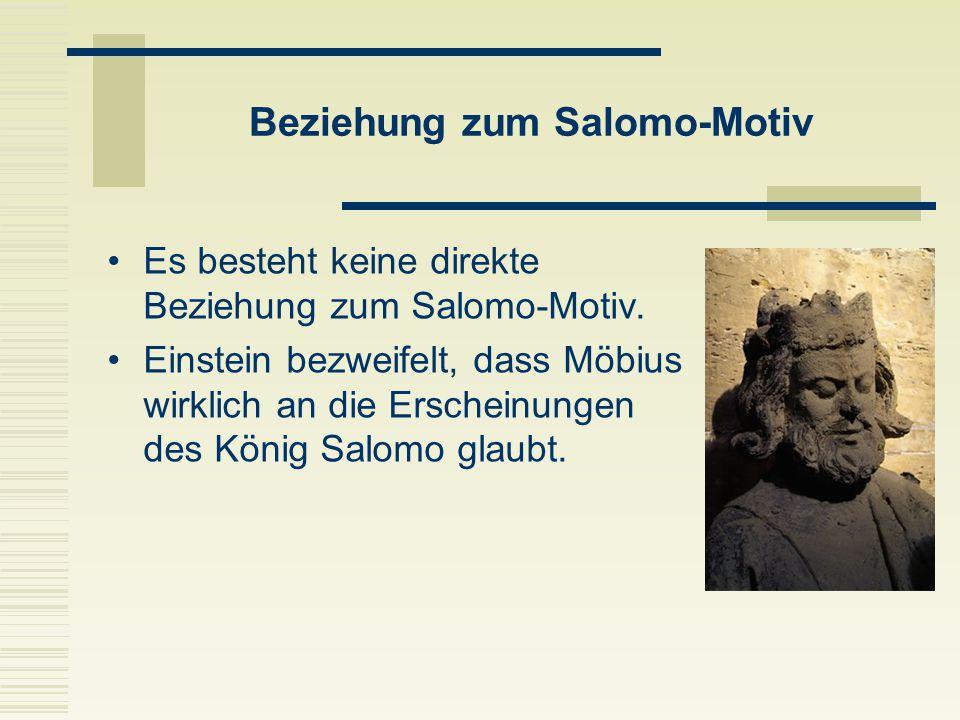 Beziehung zum Salomo-Motiv