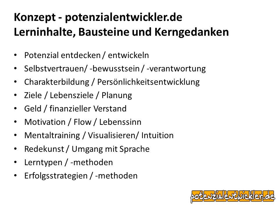 Konzept - potenzialentwickler