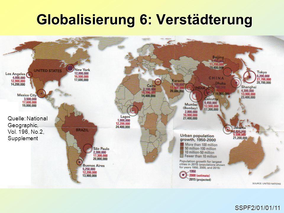 Globalisierung 6: Verstädterung