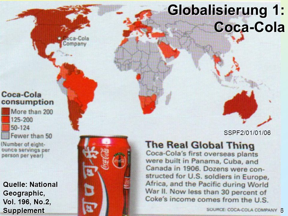 Globalisierung 1: Coca-Cola