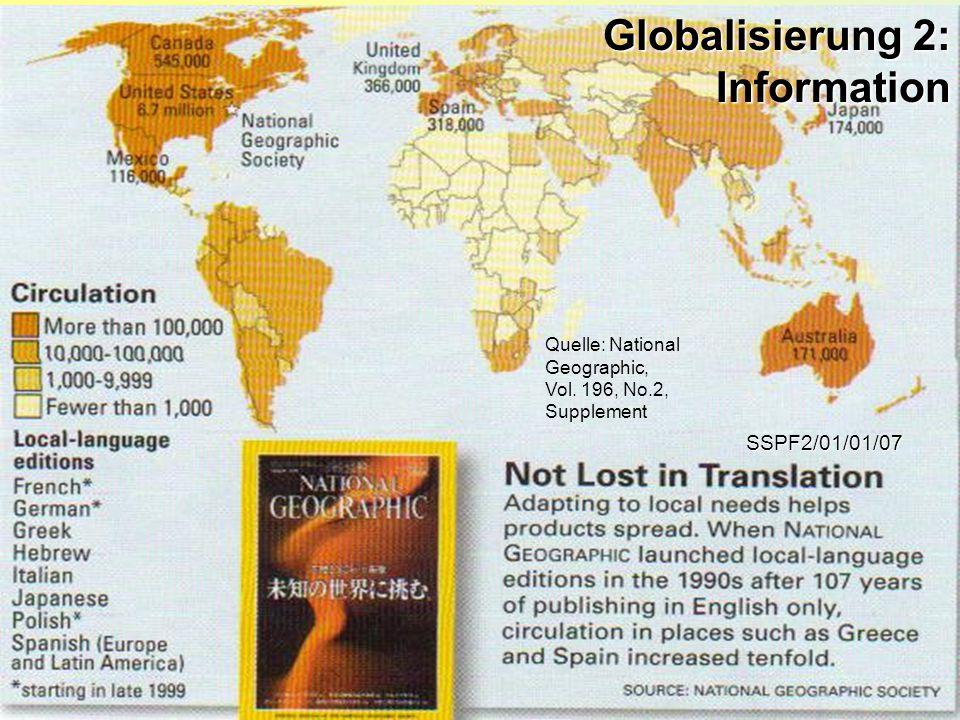 Globalisierung 2: Information