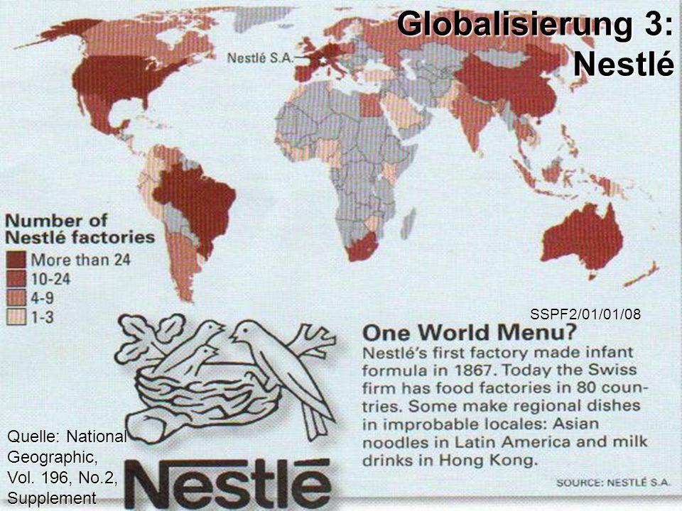 Globalisierung 3: Nestlé