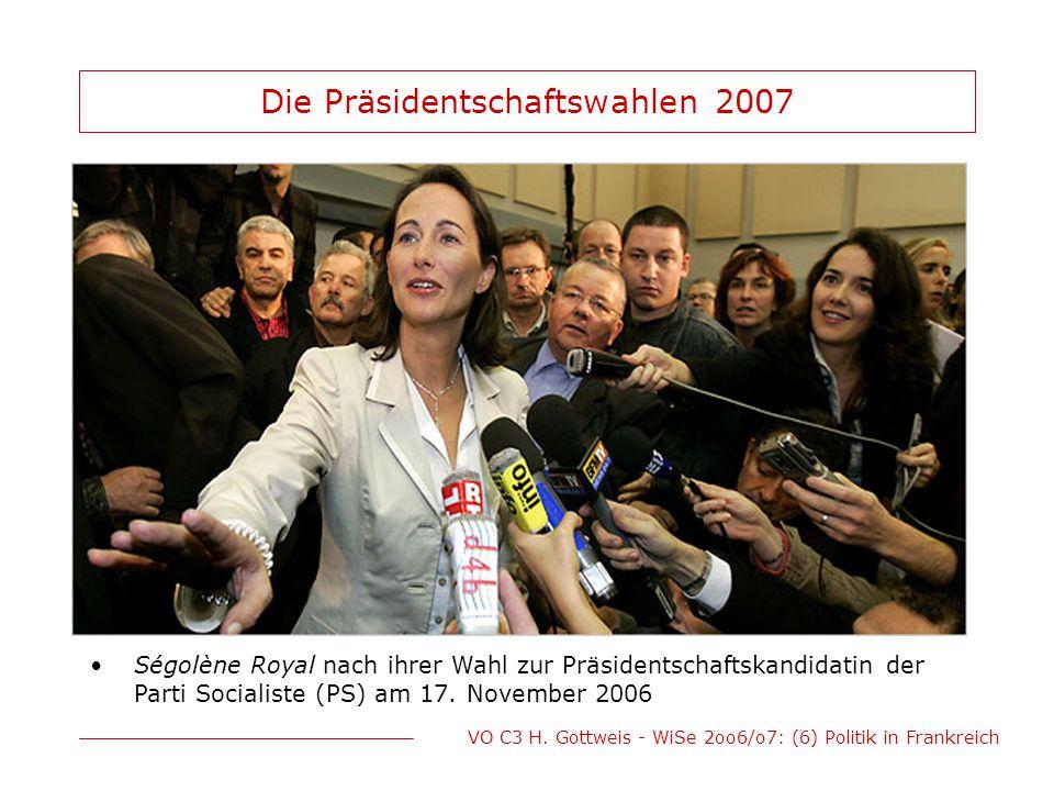 Die Präsidentschaftswahlen 2007