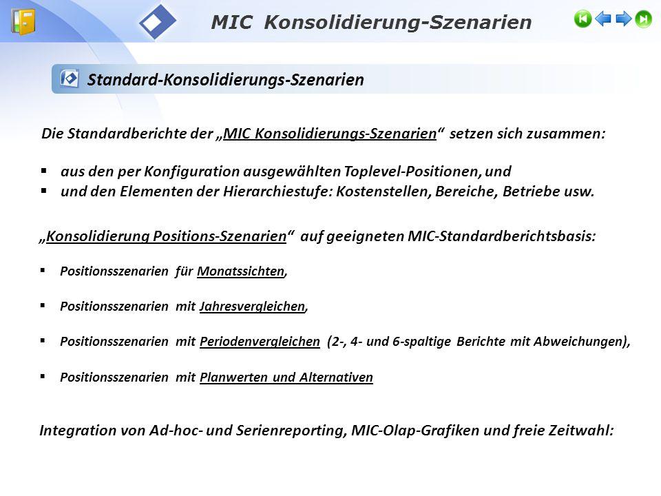 MIC Konsolidierung-Szenarien