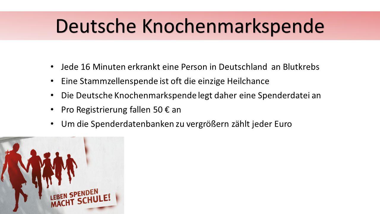 Deutsche Knochenmarkspende