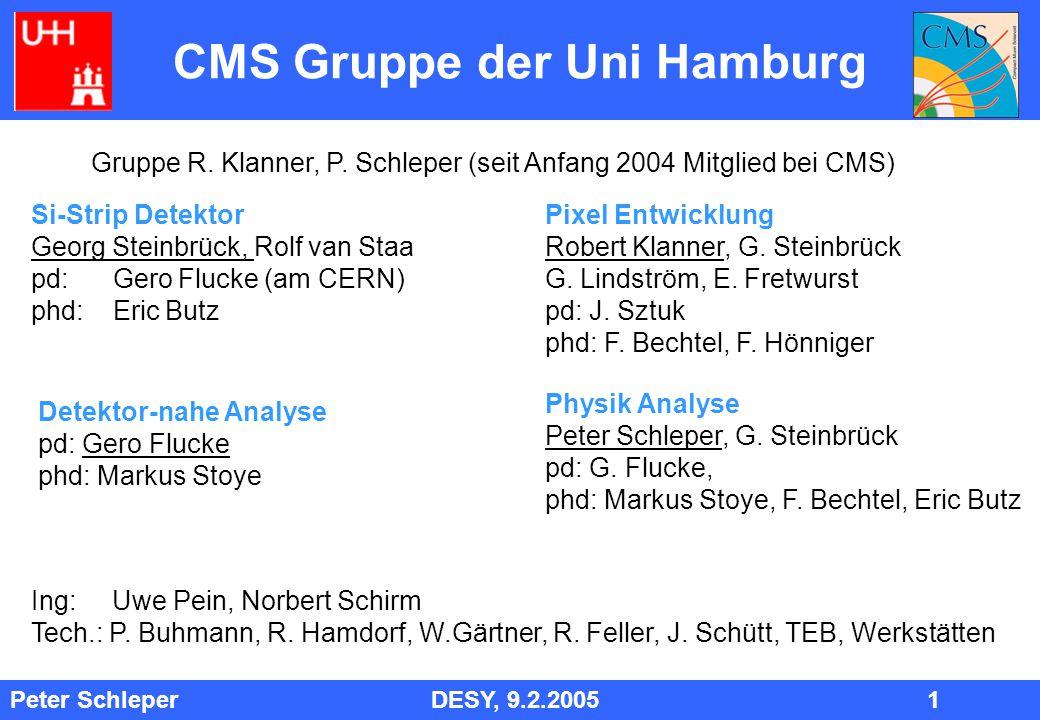 CMS Gruppe der Uni Hamburg