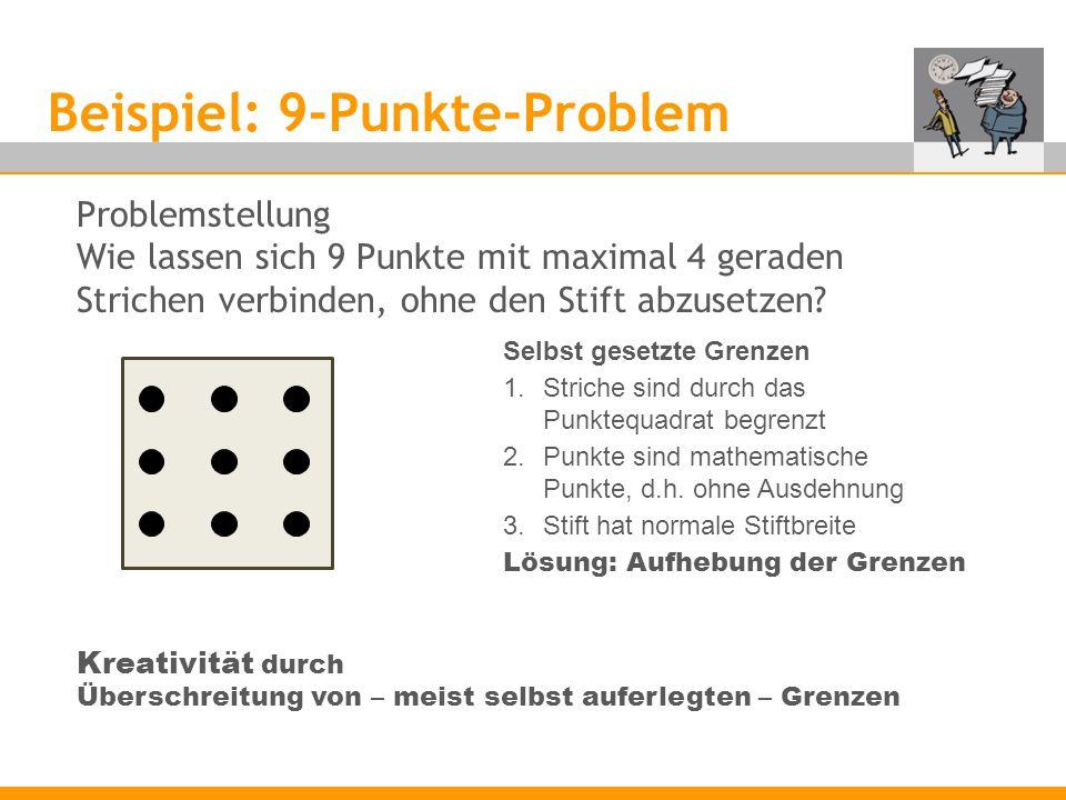 Beispiel: 9-Punkte-Problem