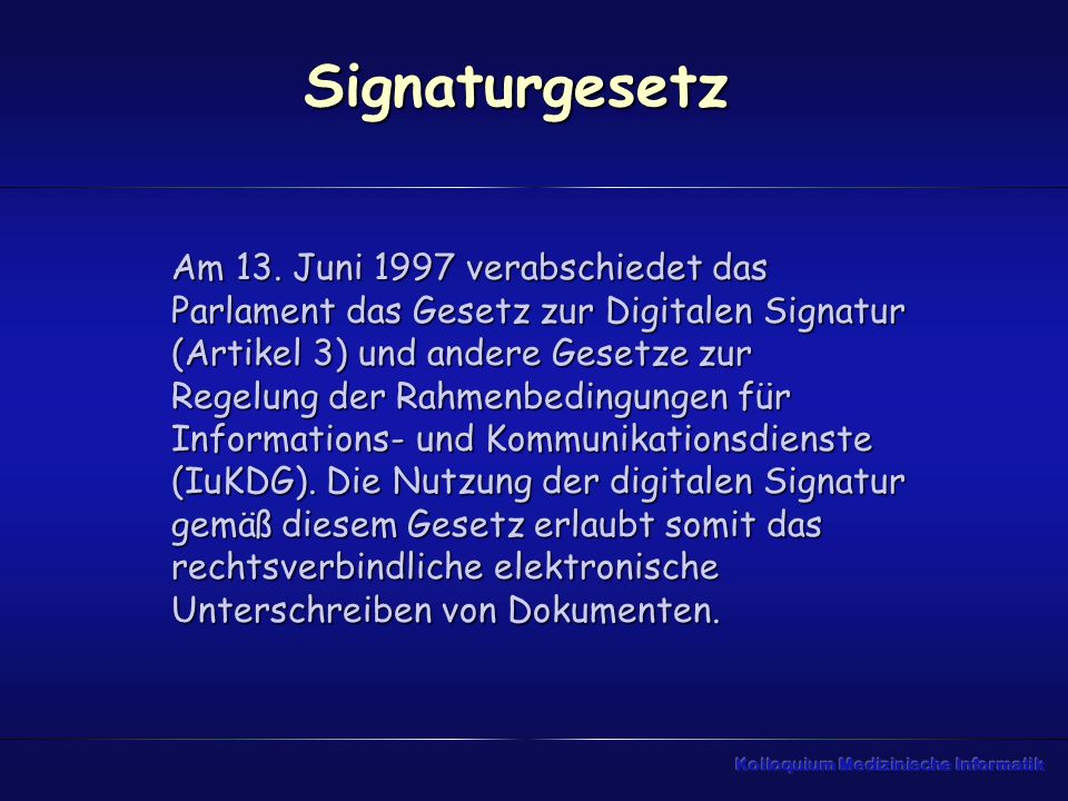 Signaturgesetz
