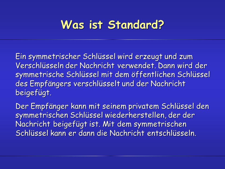 Was ist Standard