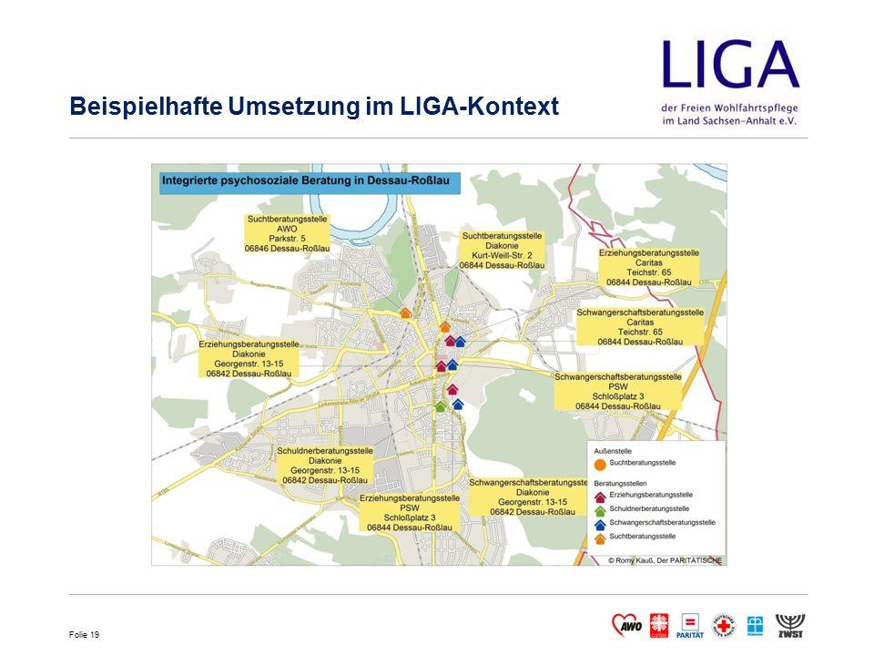Beispielhafte Umsetzung im LIGA-Kontext
