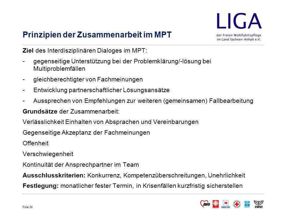Prinzipien der Zusammenarbeit im MPT