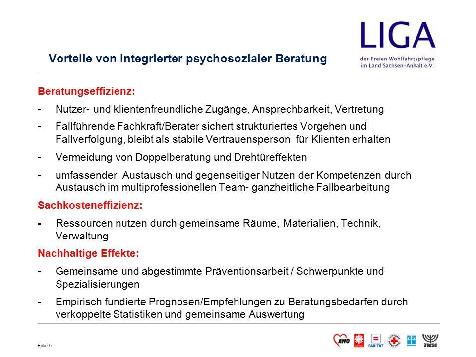 Vorteile von Integrierter psychosozialer Beratung