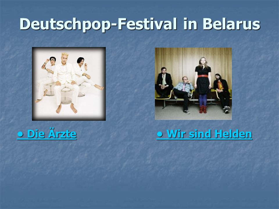 Deutschpop-Festival in Belarus