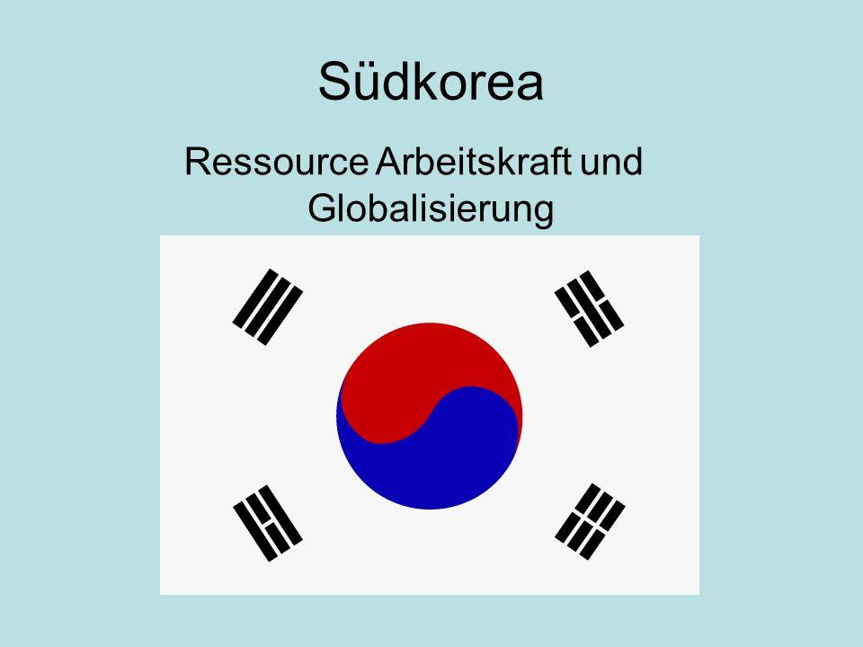 Ressource Arbeitskraft und Globalisierung
