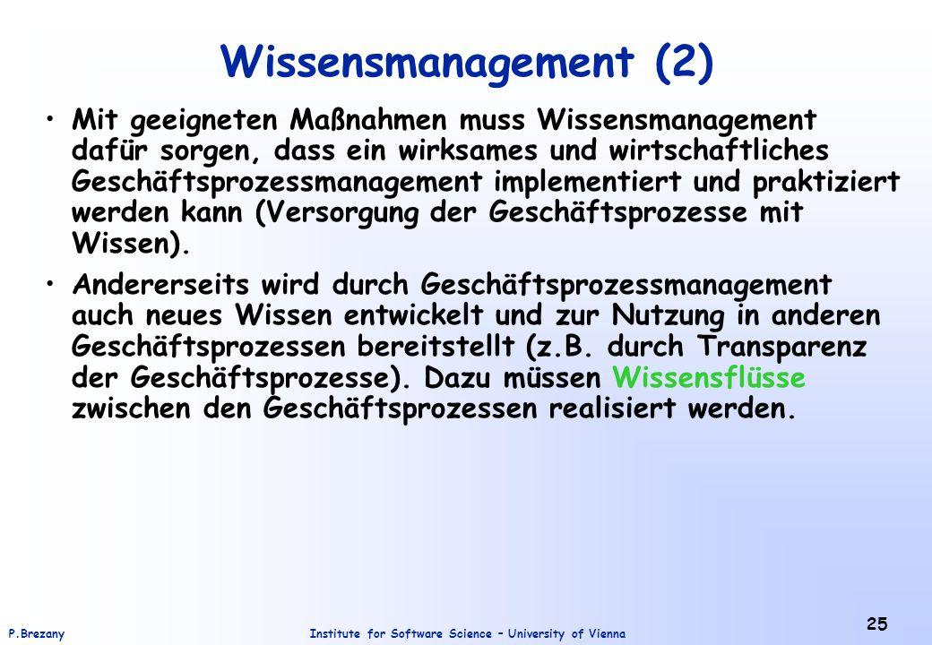 Wissensmanagement (2)