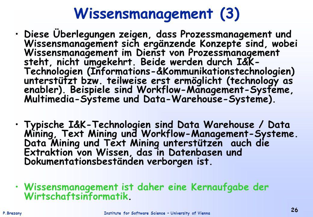 Wissensmanagement (3)