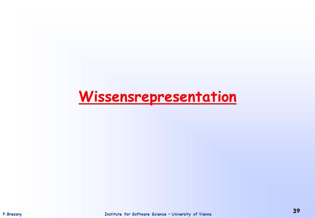 Wissensrepresentation