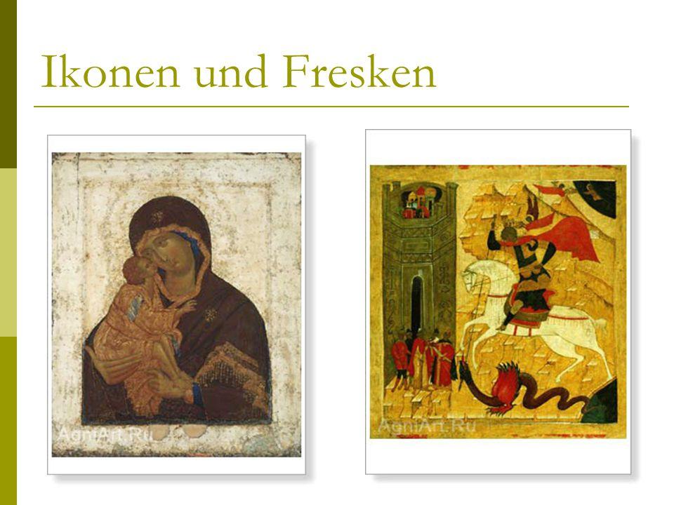 Ikonen und Fresken