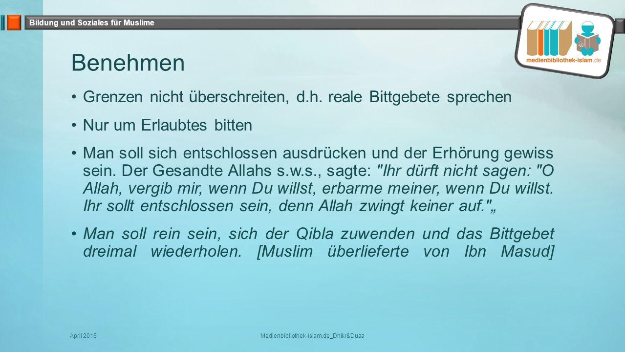 Medienbibliothek-islam.de_Dhikr&Duaa