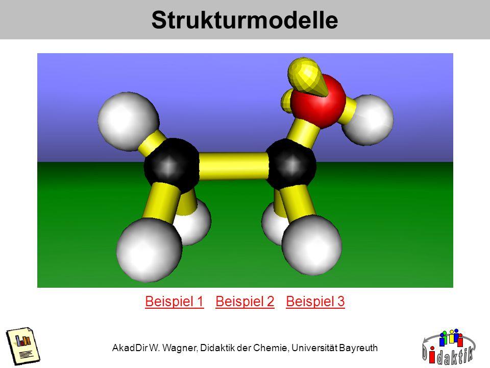 Strukturmodelle Beispiel 1 Beispiel 2 Beispiel 3